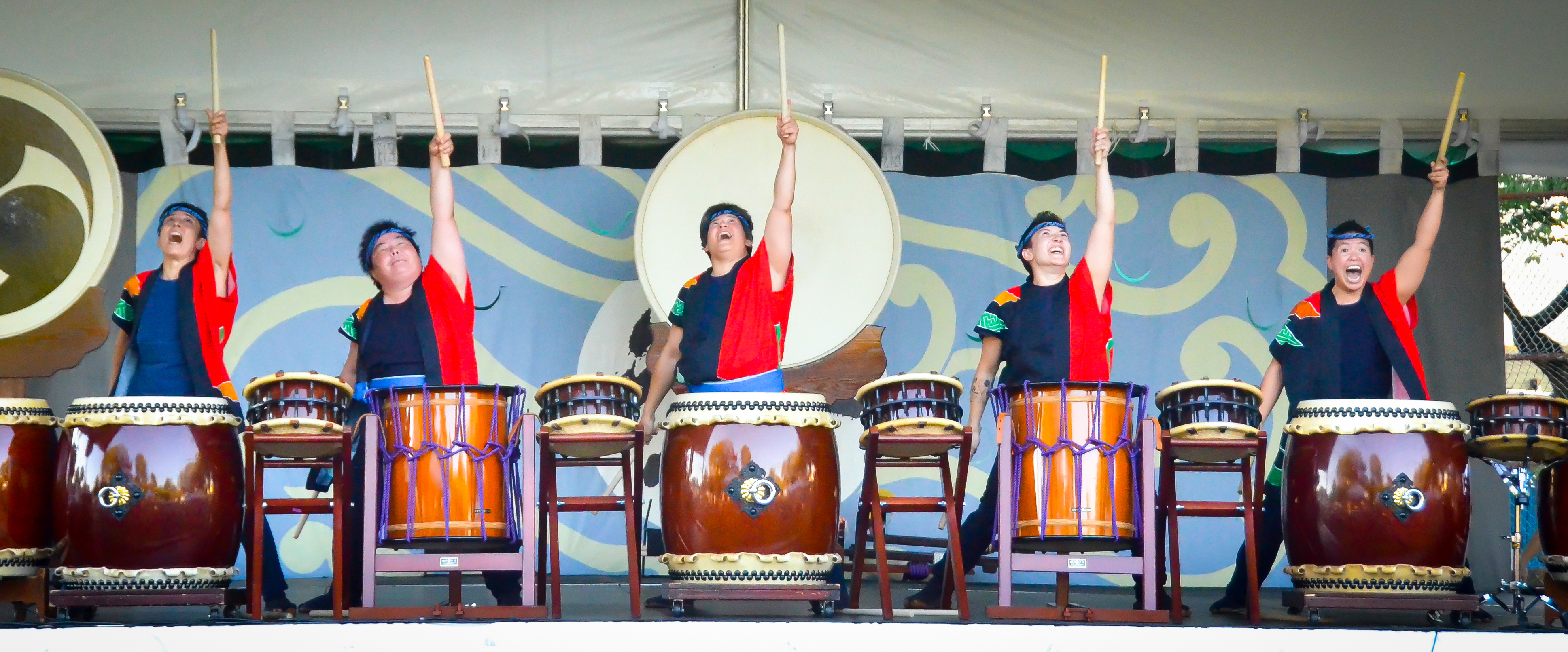 Jodaiko at Powell Street Festival